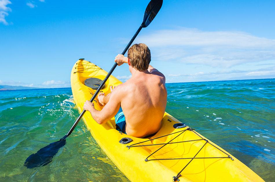 activities on anna maria island kayaking