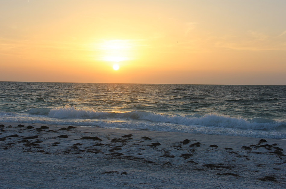 best place for sunset on anna maria island bean point