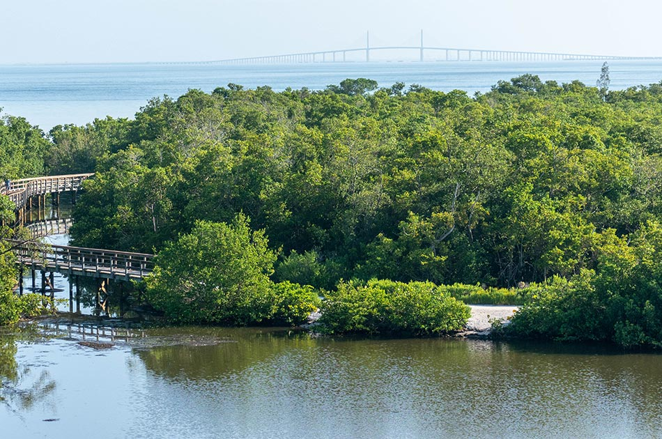 nature hikes walking trails preserves near anna maria island