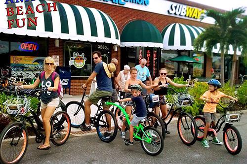 bike rental ami beach fun