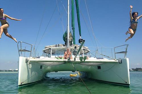 catamaran sailing anna maria island kathleen d