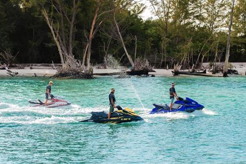 jetski boat rental on anna maria island h2o watersports