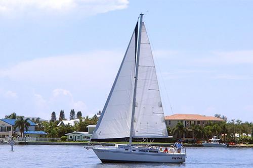 sailing on anna maria island zig zag spice sailing charters